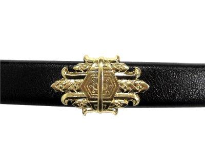 画像5: DENIX デニックス 4195 ブラック ベアード 海賊 サーベル ゴールド 模造刀 レプリカ 剣 刀 ソード