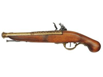 画像2: DENIX デニックス 1196/L フリント ロック ゴールド レプリカ 銃 モデルガン