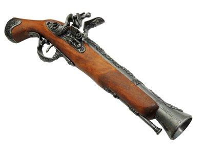 画像3: DENIX デニックス 1219/G ブランダーバス グレー ロンドン レプリカ ピストル 銃 モデルガン