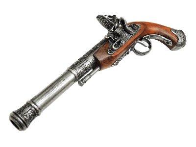 画像3: DENIX デニックス 1296/G フリントロック 左手用 グレー レプリカ 銃 モデルガン