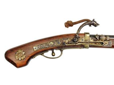 画像5: DENIX デニックス 1274 火縄銃 種子島 ポルトガル 伝来モデル 模造 レプリカ 銃 モデルガン