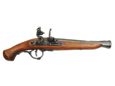 画像1: DENIX デニックス 1260/G フリントロック グレー レプリカ 銃 モデルガン