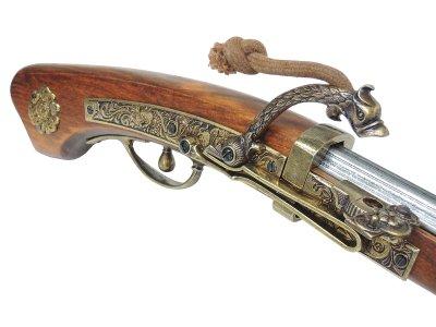 画像4: DENIX デニックス 1274 火縄銃 種子島 ポルトガル 伝来モデル 模造 レプリカ 銃 モデルガン