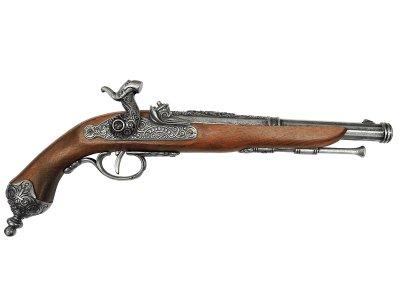 画像1: DENIX デニックス 1013/G イタリアンピストル グレー 1825年 レプリカ 銃 モデルガン