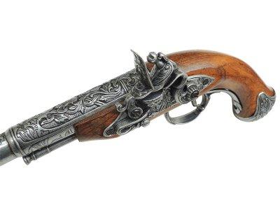 画像4: DENIX デニックス 1296/G フリントロック 左手用 グレー レプリカ 銃 モデルガン