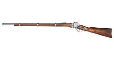 画像2: DENIX デニックス 1141 シャープス ライフル銃 レプリカ 銃 モデルガン
