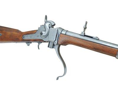 画像3: DENIX デニックス 1141 シャープス ライフル銃 レプリカ 銃 モデルガン