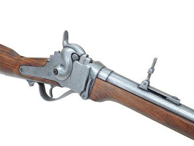 画像4: DENIX デニックス 1141 シャープス ライフル銃 レプリカ 銃 モデルガン