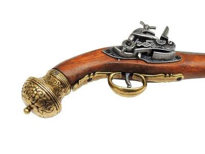 画像4: DENIX デニックス 1147/L フリント ロック ゴールド レプリカ 銃 モデルガン