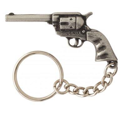 画像1: DENIX デニックス 950 リボルバー キーホルダー 銃 ガン ミリタリー キーリング アーミー アクセサリー キーチェーン