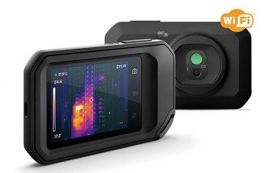 画像1: ポケット型 赤外線 サーモグラフィ  フリアーC5