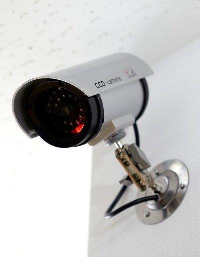 画像1: 防犯LED点滅ダミーカメラ