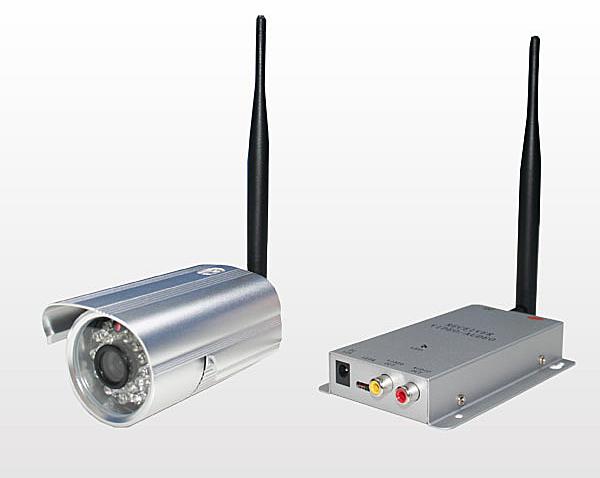 赤外線ワイヤレスカメラセット