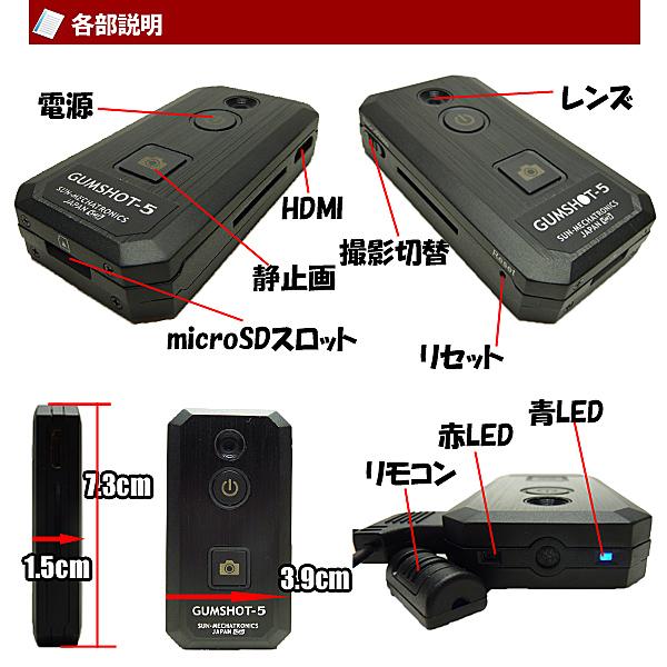 小型カメラ 説明