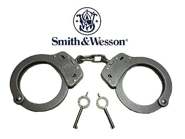スミス&ウェッソン 手錠の販売店|防犯対策ネット                                    スミス&ウェッソン S&W ステンレス手錠                                    [M103]