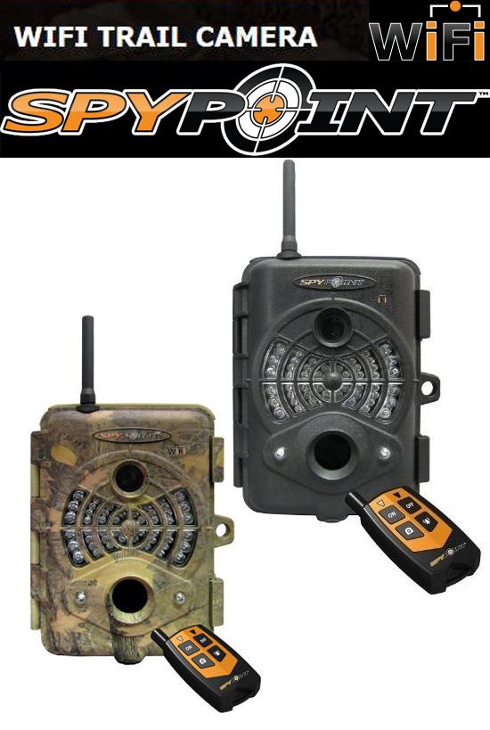 Wi-Fi対応 トレイルカメラ