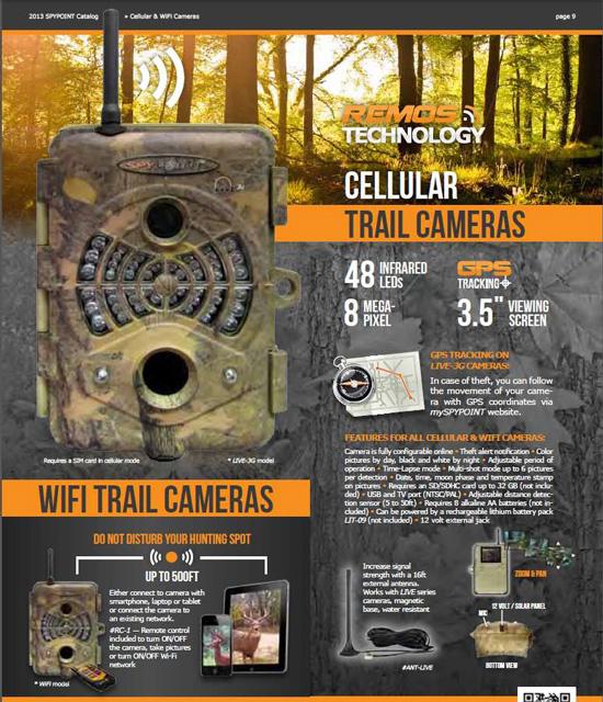 Wi-Fi対応 トレイルカメラ2