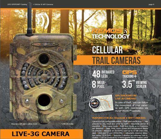 3G対応 トレイルカメラ3