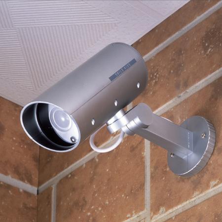 ダミーカメラ【防雨型】【LED点滅】【】