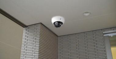 ドーム型カメラ設置例