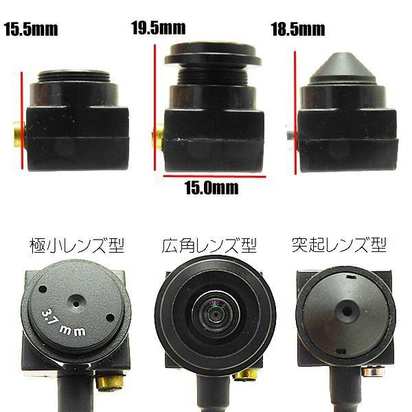 超小型カメラのサイズ