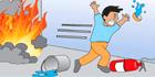 消火器の消火方法4