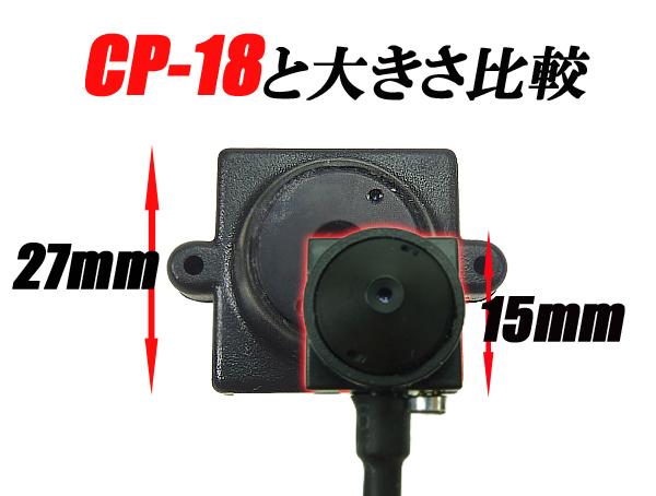 世界最小クラス小型カメラ