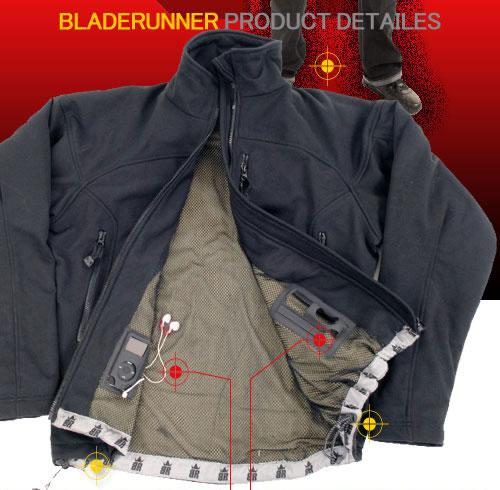 防刃ジャケット ブラック