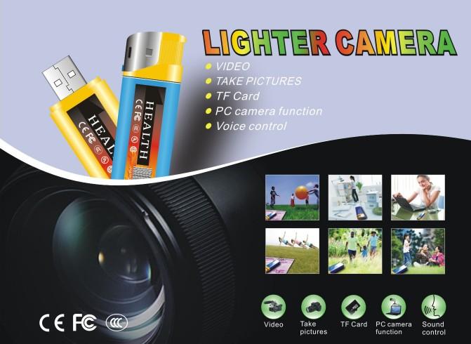 超高解像度 100円ライター型ビデオカメラ